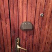 Тамбурная этажная дверь